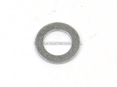 Gasket, aluminum ring, 8mm, for camshaft chain guide pin
