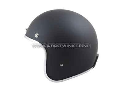 Helmet MT, Le Mans, Matt black, Sizes XS to XXL