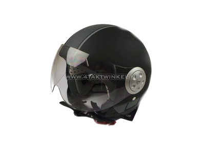 Helmet MT, Urban Solid, Matt Black, Sizes XS to XXL