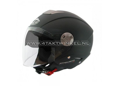Helmet MT, Jet, City Eleven, matt black, Sizes XS to XL