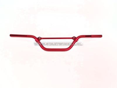 Handlebar aluminum wide, red