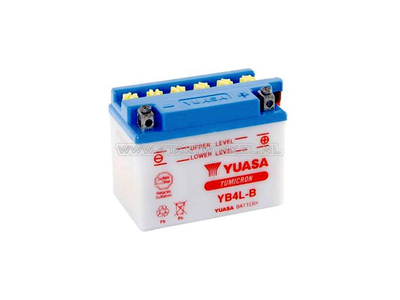 Battery 12 volt 4 ampere acid, YB4L-B, Yuasa