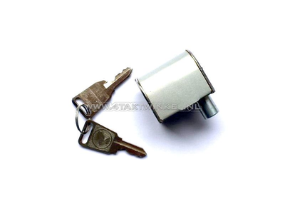Steering lock C50, SS50, CD50, Ape 50, PC50, Novio, Amigo, original Honda, classic key