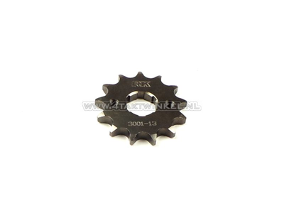 Front sprocket, 428 chain, 20mm shaft, 13, Ace / Ape 125