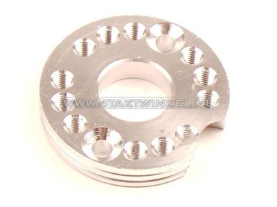 Adjuster plate for carburettor aluminum, blank, 22mm