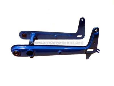 Swingarm C50, high model, blue, aftermarket