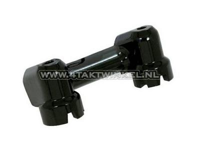 Handlebar clamp Dax / Monkey aluminum standard, black