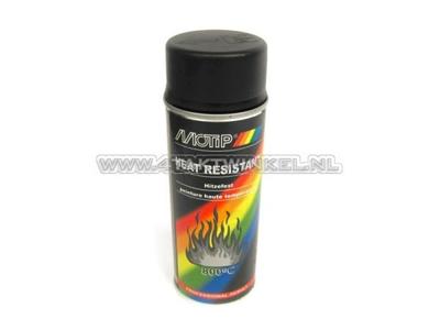 Paint Motip heat resistant black