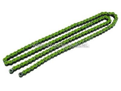 Chain 420 CYC, green, 130 links