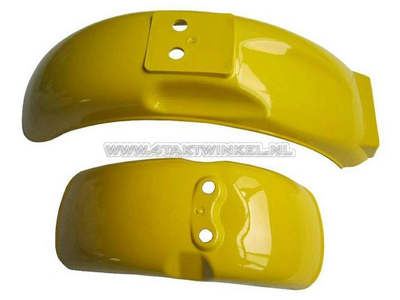 Mudguard set, Monkey, yellow