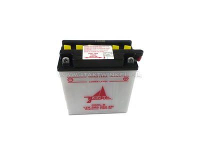 Battery 12 volt 5 ampere, YB5L-B C90 with starter motor