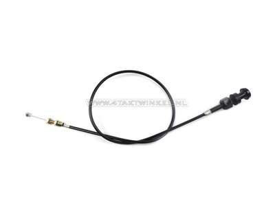 Choke cable, Chaly, 70cm, with knob, aftermarket