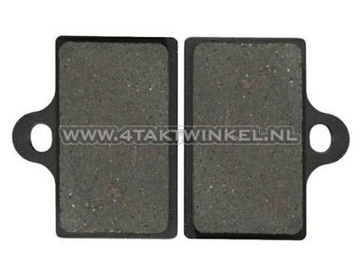 Brake pads, floating disc / universal