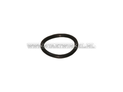 Oil dipstick rubber O-ring, C50, C310, C320, original Honda