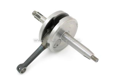 Crankshaft, 49.5mm stroke, 12 volt, bare