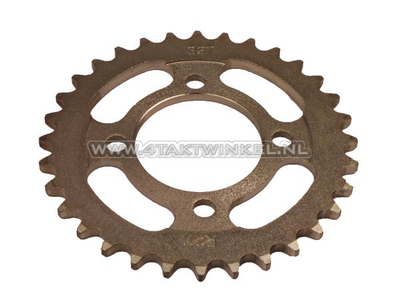 Rear sprocket C50, CD50 32