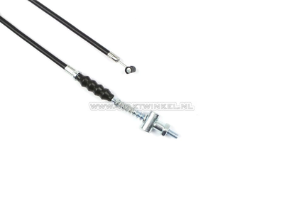 Brake cable 108cm C50, CY50, Dax, SS50 + 13cm, aftermarket, with adjusting nut