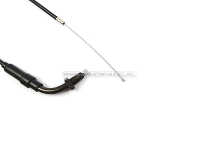 Throttle cable, C50 NT, 72cm, with bend, aftermarket