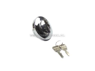 Fuel cap CD50, CL50 Novio, Amigo with lock, Kitaco