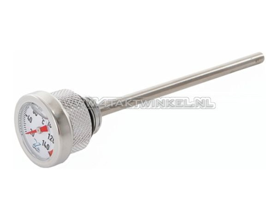 Oil temperature gauge, long, A quality
