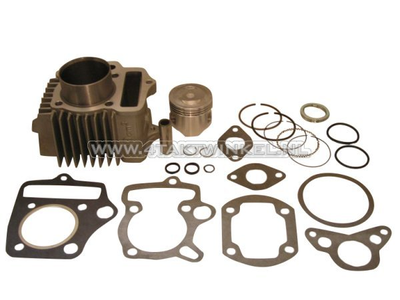 Cylinder kit, with piston & gasket 70cc, NT50 head 49cc op.?aluminum, Japanese