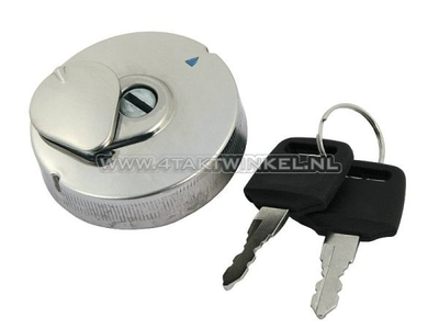 Fuel cap Dax, Monkey, with lock, aftermarket