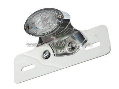 Taillight cateye single, small, blank LED