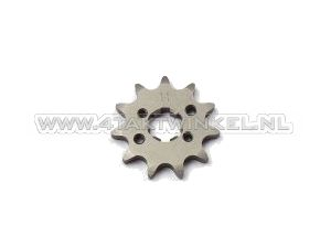 Front sprocket, 420 chain, 17mm shaft, 11, SS50, C50, Dax, m3 holes