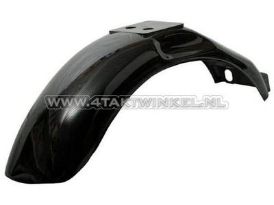 Mudguard rear Monkey, black plastic