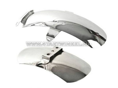 Mudguard set, Z50a aftermarket chrome