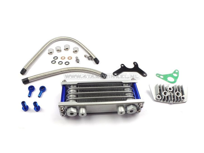 Oil cooler set 4 rows