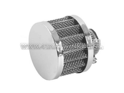 Breather filter for crankcase