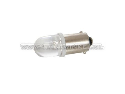 Bulb BA9s, single, 12 volt, LED