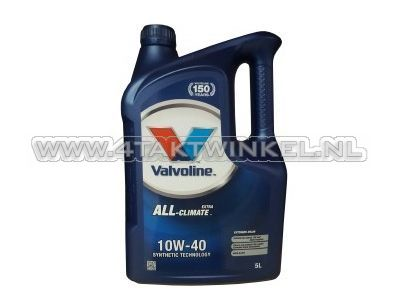 Oil Valvoline 10w-40 All climate 5 liters