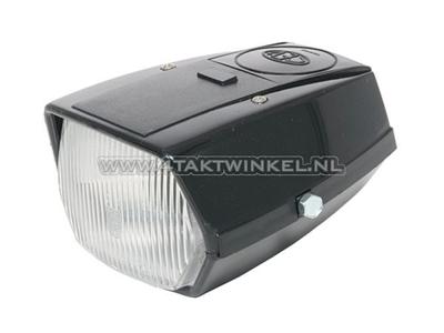 Headlight complete, Novio, Amigo alternative, black