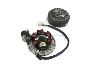 CDI ignition set 12v tap, C50 NT, with Ignition coil ring, mass free