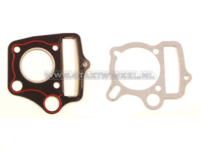 Gasket set A, head & cylinder, basic set: foot & head, 50cc