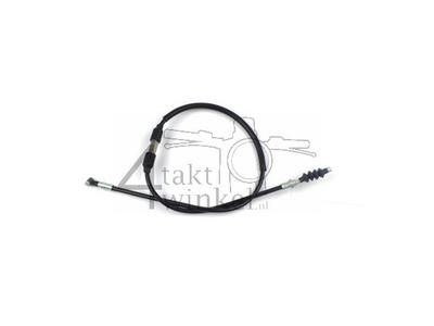 Clutch cable, Monkey, 75cm, black, original Honda