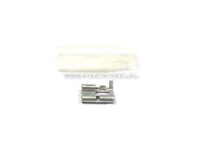 Connector Japanese bullet female 3-way + sleeve