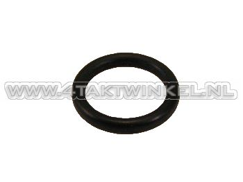 Oil dipstick rubber O-ring, C50, SS50, original Honda