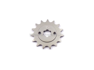 Front sprocket, 415 chain, 17mm shaft, 15, C310, PC50, PS50
