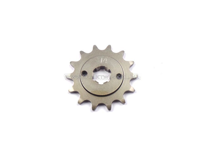 Front sprocket, 415 chain, 17mm shaft, 14, C310, PC50, PS50