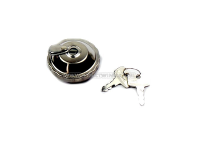 Fuel cap C50, CD50, Chaly, with lock, aftermarket