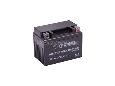 Battery 12 volt 4 ampere gel / AGM, MTX4L-BS