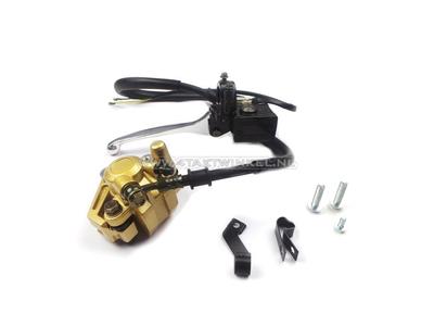 Caliper set + brake pump, Dax, Skyteam, Zhenhua