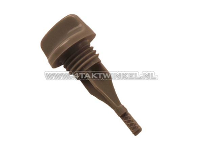 Oil dipstick short, 55mm, SS50, CD50, original Honda