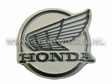 Legshield emblem C50 NT, old style, original Honda