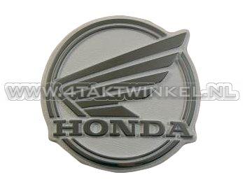 Legshield emblem C50 NT, modern style, original Honda