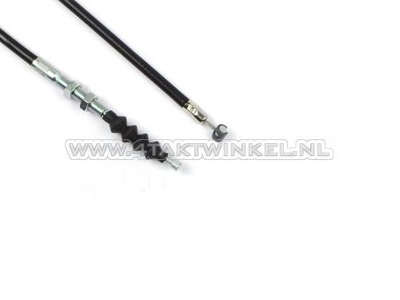 Clutch cable, CB50, CY50, 92cm, black, aftermarket