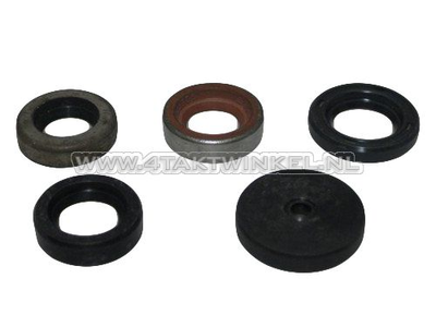 Oil seal set PC50, PS50, overhead camshaft model, 5 pieces